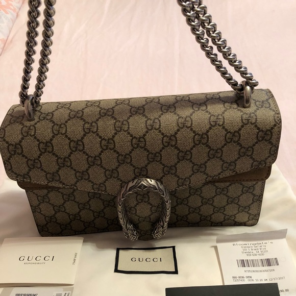 40216b11c35 Dionysus Small GG Shoulder Bag